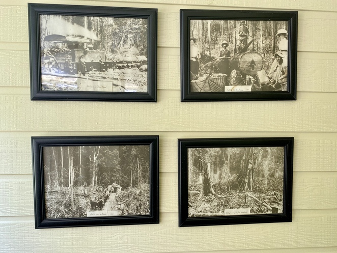 After a great meal, visitors can explore the area's heritage through photographs and artefact displays