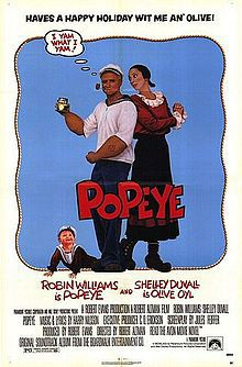 Popeye Robin Williams poster