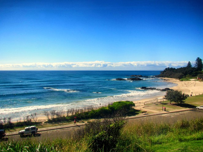 Port Macquarie Central New South Wales Coast Town Beach ocean sea sand sun swimming surfing
