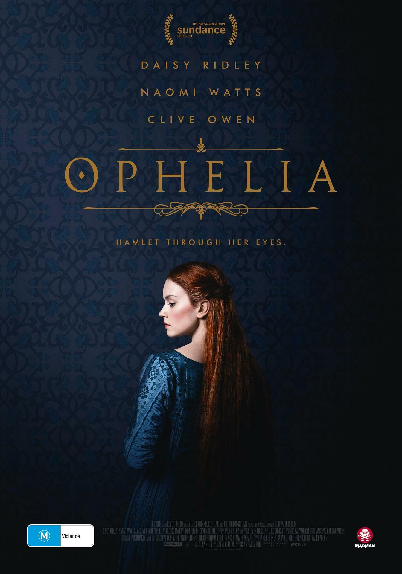 Win 1 of 10 Double Passes to OPHELIA
