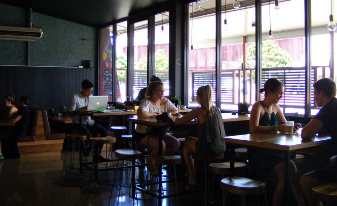 Sasquatch bar is the coolest place to hang out in Chermside