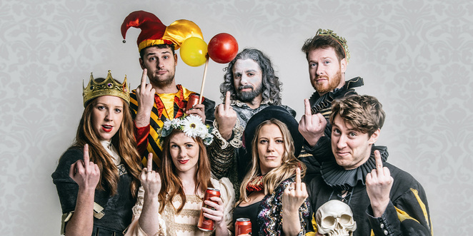 Shit-Faced Shakespeare, A-List Entertainment, Comedy, Improv, Adelaide, Fringe, Review