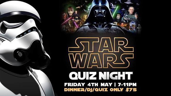 Star Wars Quiz Night with Buffet Dinner