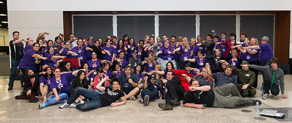 Supanova 2016 volunteers