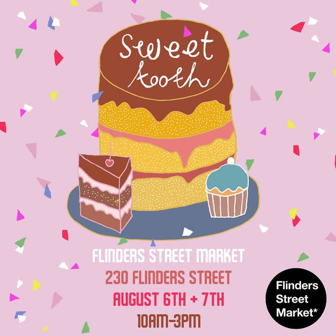 sweet tooth festival, flinders street market, markets adelaide, adelaide things to do, free things to do in adelaide, weekend events, free events, adelaide free things to do, dessert adelaide, dessert bars adelaide
