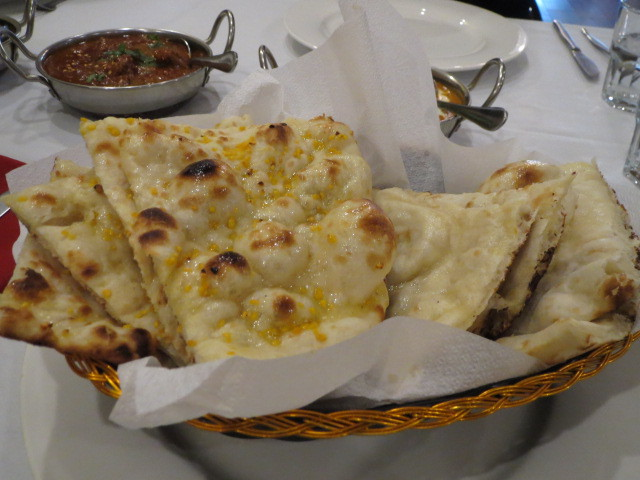 Taste of Bollywood, Plain and Garlic Naan, Adelaide