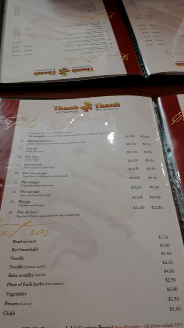 Thanh Thanh, Adelaide