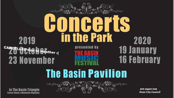 The Basin, Victoria, Learn Something, Community Events, Free, Music, Outdoors, Fun Things To Do