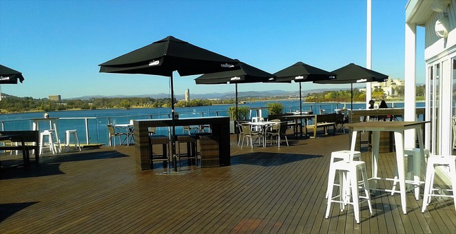 the deck, regatta point, cafe, restuarant, ACT, breakfast, lunch, weddings, functions, events, best views in canberra, romantic,