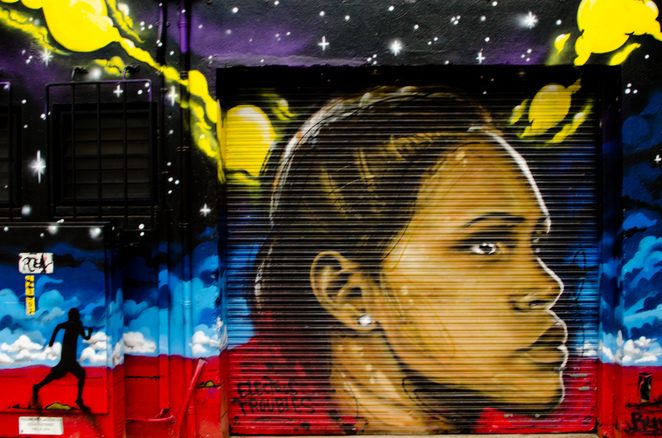 townsville street art cathy freeman