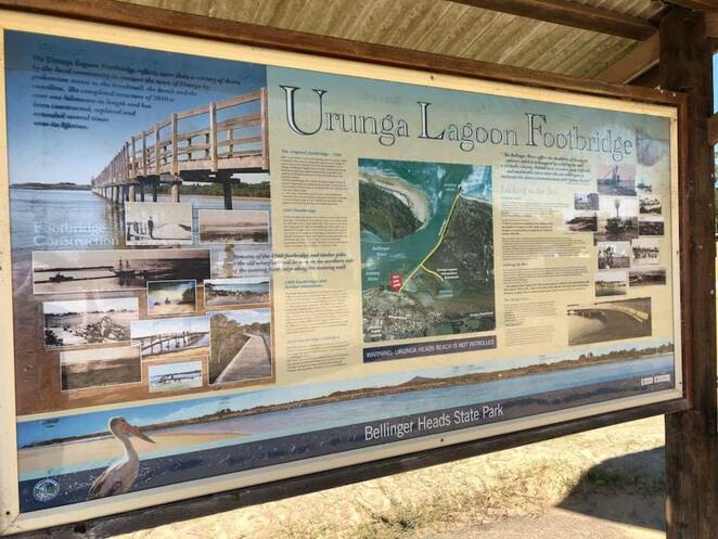 Urunga Boardwalk is well-maintained and signed