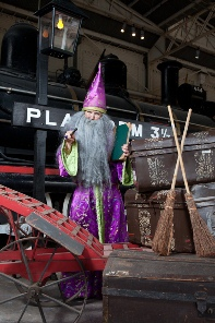 Wizards Express, The Workshops Railway, Trains, Kids, School Holidays