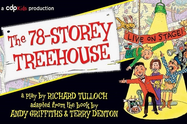 78-storey treehouse, Andy Griffiths, treehouse, QUT, Gardens theatre