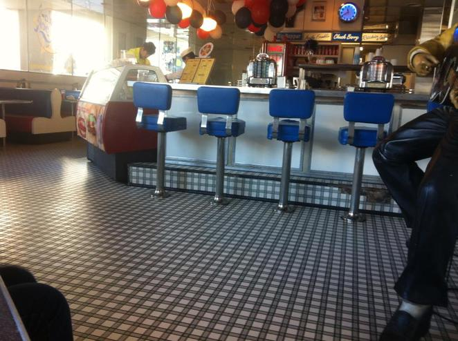 American diner, south yarra, booth