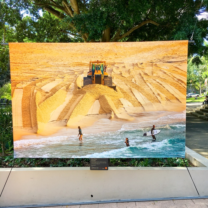 art, sydney, popup, artist, artistic, gallery, about, out, outdoors, city, urban, gallery, photography, installation, caterpillar, bronte, beach, surf, surfing, sand, surfers, surfer