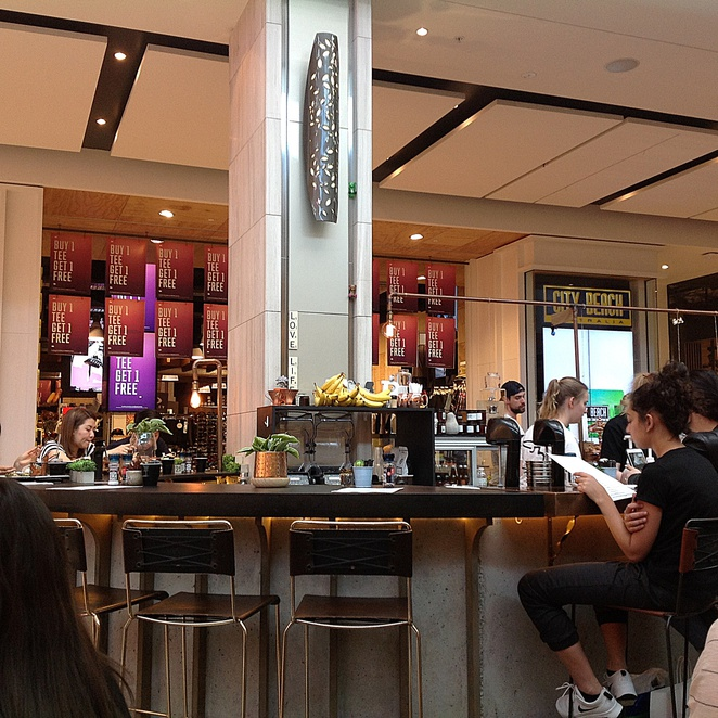 Bar counter, Missing Piece Cafe