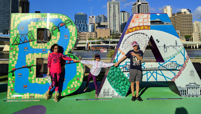 Families can have lots of fun in Brisbane