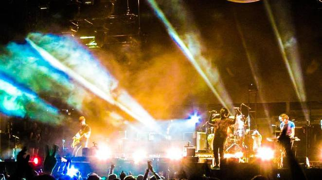Bloc Party set during last year's Future Music Festival
