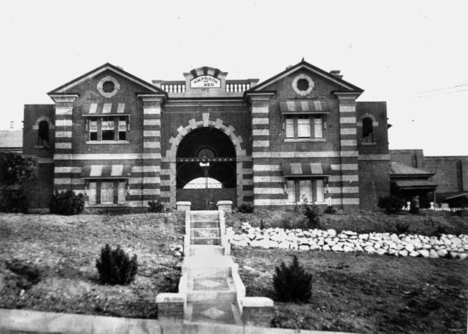 Photo of Boggo Road Gaol Circa 1903 courtesy of The State Library of Queensland