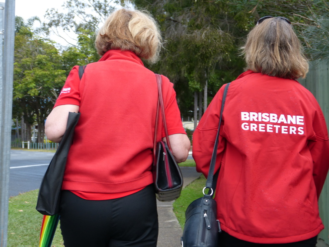 Brisbane Greeters,training,Quandamooka country,pavements