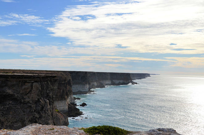 Bunda Cliffs Nullarbor