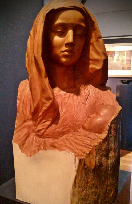 gareth graham, mother and child, bungendore wood works gallery, bungendore, gallery, art galleries, wood working, wood shops, sculptures,