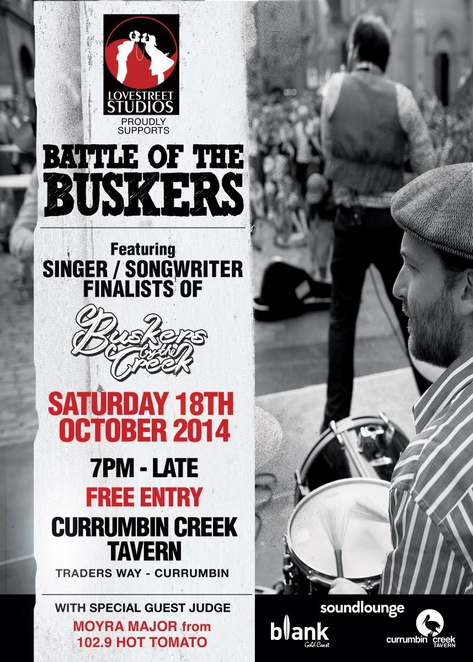 Buskers by the Creek, Winders Park, Currumbin, Battle of the Buskers
