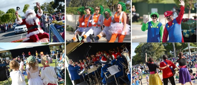 Campbelltown Christmas Parade & Carols In The Park adelaide