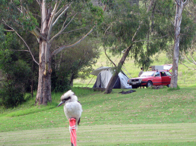 South East Queensland's mild winters make camping a joy