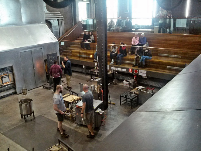 canberra glassworks, kingston power house, ACT, historical tours, tours, tourist attractions, glass art,