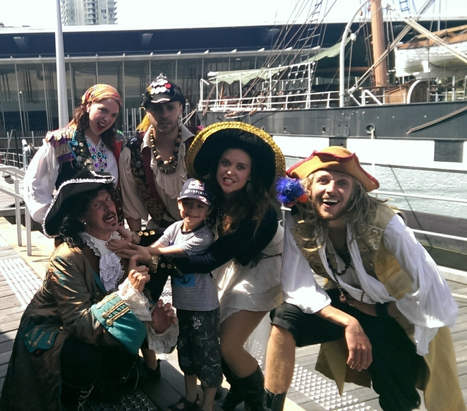 Caribbean Pirates at Polly Woodside