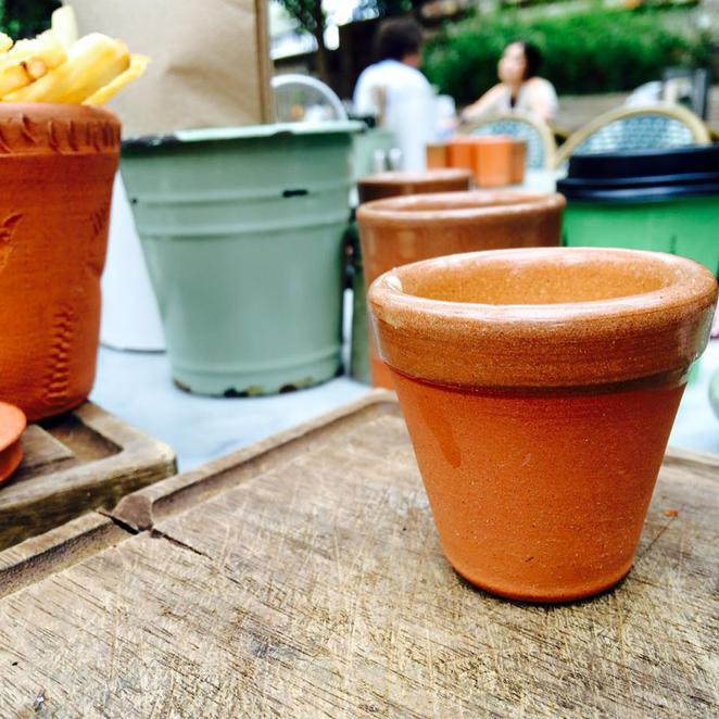 chips, pot, the potting shed, the grounds of alexandria