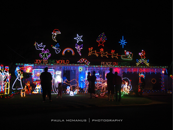 Christmas Lights, West Beach (�paula mcmanus)