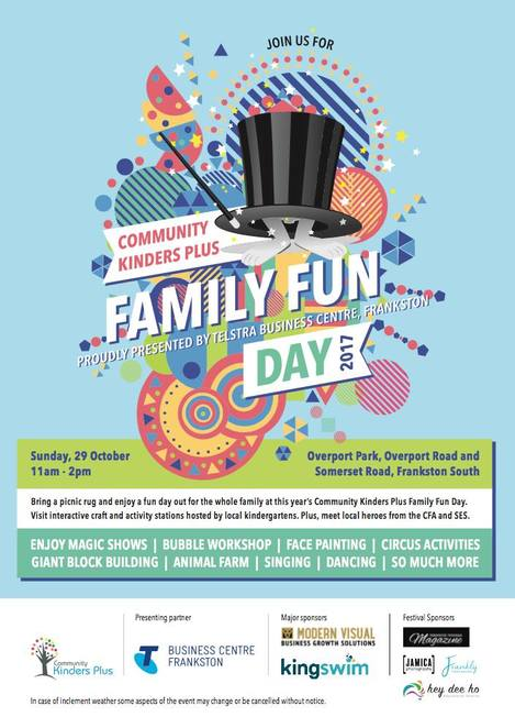 Community Kinder's Plus Family Fun Day