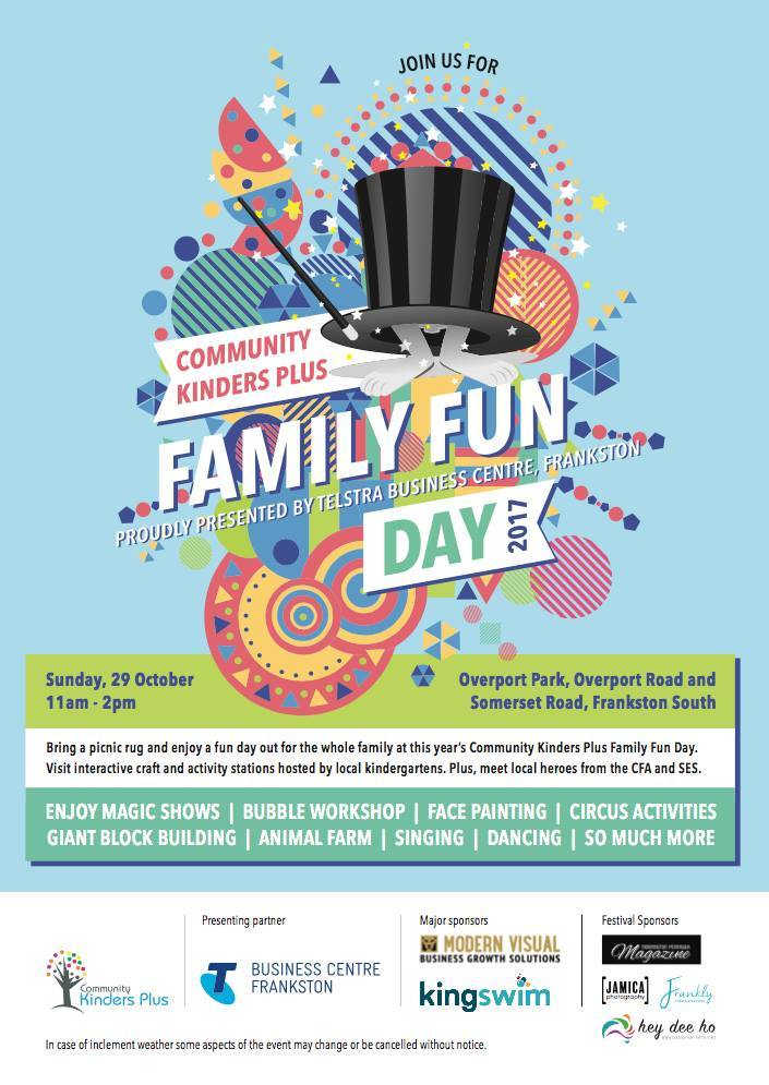 Community kinders plus family fun day melbourne community kinders plus family fun day negle Choice Image