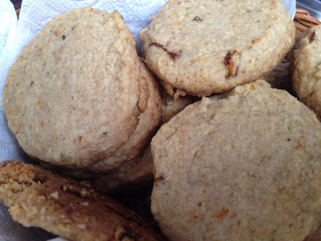 cookies, homemade,savoury
