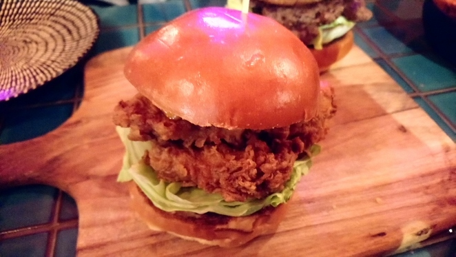 Couch Potato, Double Fried Chicken Burger, Adelaide