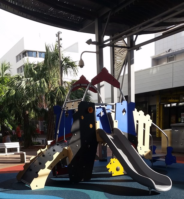 Darwin, playground, playground in Darwin, children, free, free activity for children, the Mall Darwin, Smith Street Mall Darwin