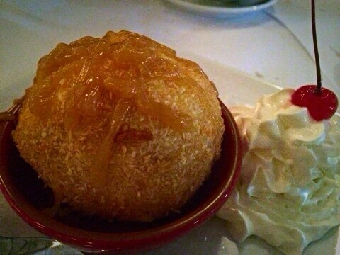 Deep Fried Icecream @ Thai House