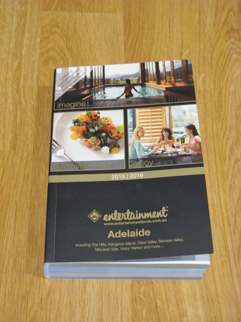 Dining Offers in Adelaide, Entertainment Book 2015, Adelaide