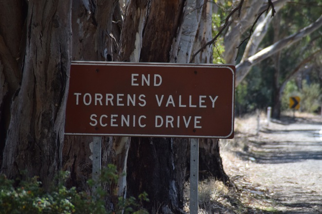 Torrens Valley Scenic Drive, Tourist Drive 58, Newmans Nursery, Blumberg, Inglewood Inn, Chain of Ponds, Top of the Torrens, National Motor Museum, Lovells Bakery, Mt Pleasant Bakery