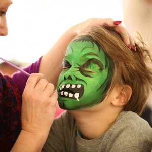 Face Painting, Tesselaar Tulip Festival, Activites for kids, Fun