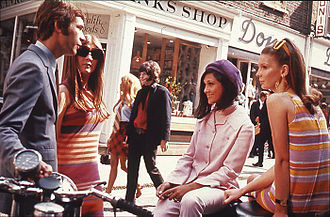 Fashions of the 60's in London - From Wiki