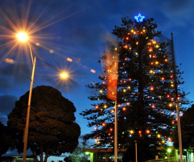 Frankston's Christmas Festival Of Lights 2013