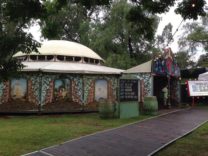 Garden of Unearthly Delights Adelaide Fringe Idolize tent comedy music drama live theatre