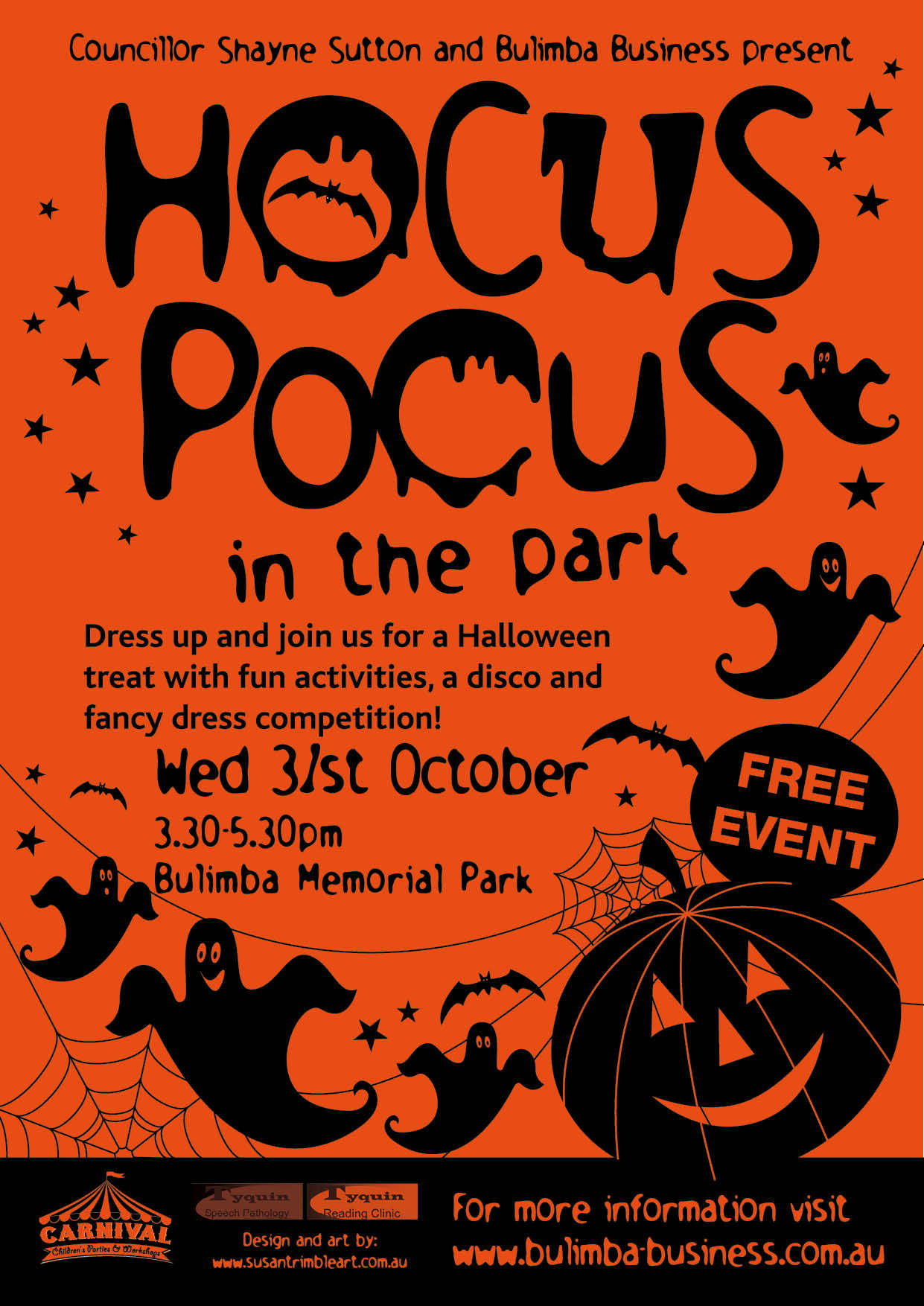 Hocus Pocus in the Park - Brisbane