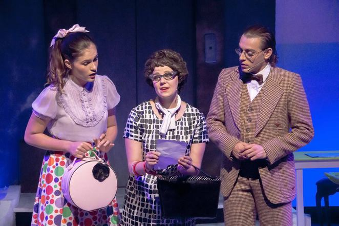 how to succeed in business without really trying, gold coast little theatre, shane caddaye, musical, climbing the corporate ladder