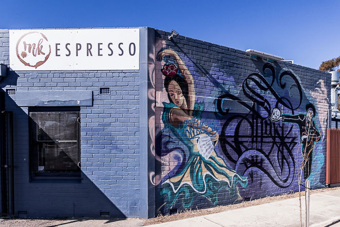 Ink Espresso Cafe at Largs North. Beachside cafe with great coffee and burgers in Western Adelaide.