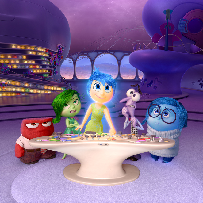 inside out pixar disney