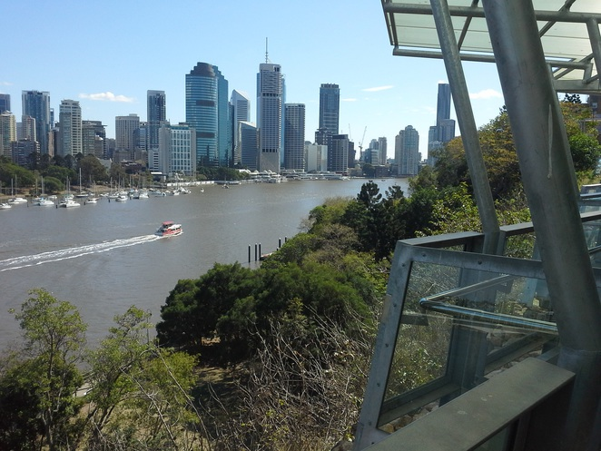 Kangaroo point Cliffs view